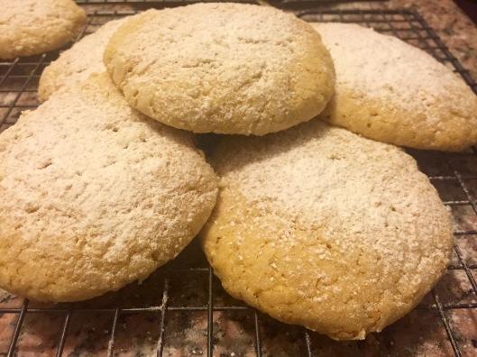 Vanilla Cake Cookies